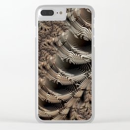 ABSTRACT.SPINAL Clear iPhone Case