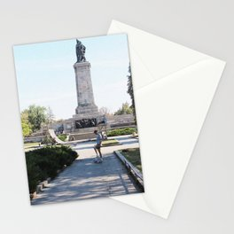 sk8 not war Stationery Cards