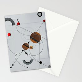Abstract Composition 440 Stationery Cards