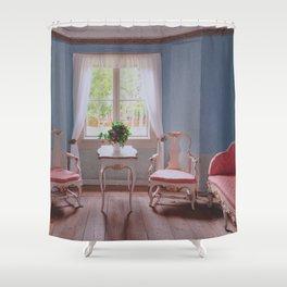 Beautiful house by Giada Ciotola Shower Curtain