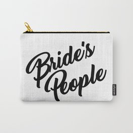 Bride's People Carry-All Pouch