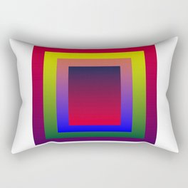 Color Shades by MRT Rectangular Pillow
