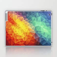 Abstract Multi Color Cubizm Painting Laptop & iPad Skin
