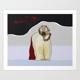 Terror Series I, Endangered V Art Print