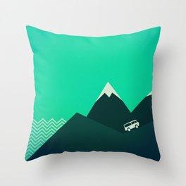 Travel! Throw Pillow
