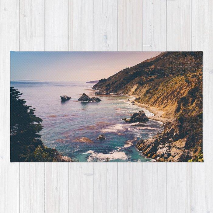 Big Sur Pacific Coast Highway Rug