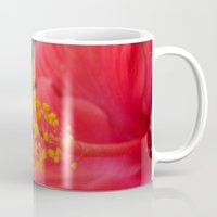 hibiscus Mugs featuring Hibiscus by BACK to THE ROOTS