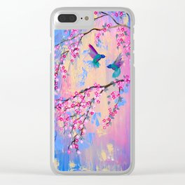 Paradise With You Clear iPhone Case