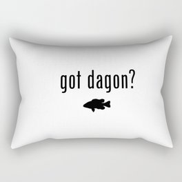 Lovecraft Print Necronomicon Dagon Innsmouth Rectangular Pillow