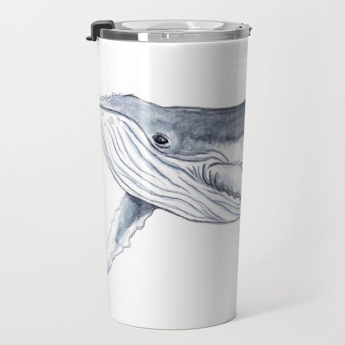 Baby humpback whale (Megaptera novaeangliae) Travel Mug