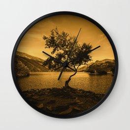 Tree at Llyn Padarn Wall Clock