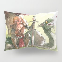 Warrior's rest Pillow Sham