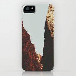 Big Bend Ranch State Park Small Canyon iPhone Case