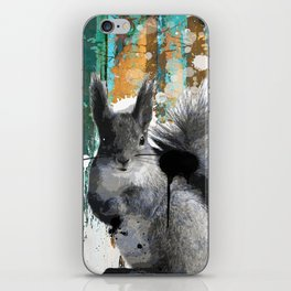 Cheeky Industrious Squirrel  iPhone Skin