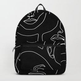 Faces in Dark Rucksack