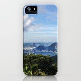 RIO DE JANEIRO THE CITY POSTCARD iPhone Case