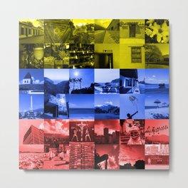 Venezuela tricolor Metal Print