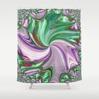 candy Shower Curtains featuring Candy by lillianhibiscus