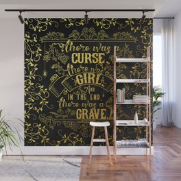 Beautiful Creatures - Grave - Gold Foil Wall Mural