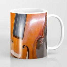 Violin and Flowers Coffee Mug