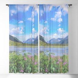 God's Country - IV, Alaska Sheer Curtain