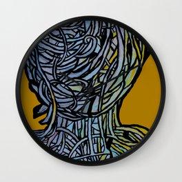 Windower Mustard Wall Clock