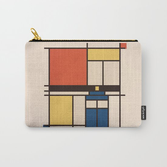 Mondrian Who Carry-All Pouch