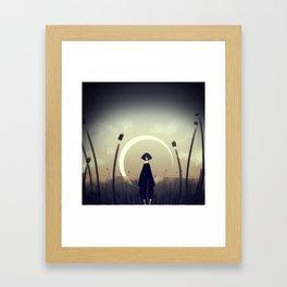 Cold Field Framed Art Print