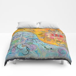 UNION, Suns and Moons Comforters