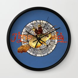 Bosch Winged Toad Wall Clock