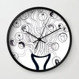 Multiples Vidas Wall Clock