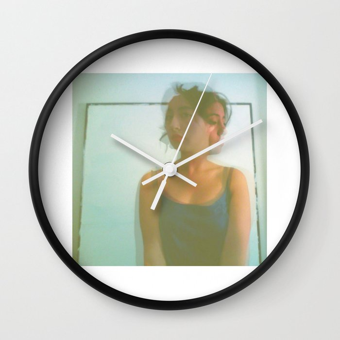 Chaos Around Her Wall Clock