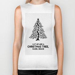 I lit up like a christmas tree, hazel grace TFIOS JOHN GREEN Biker Tank