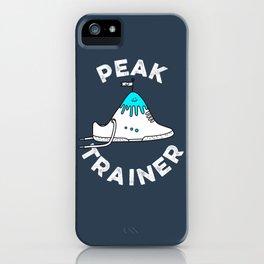 Peak Trainer iPhone Case
