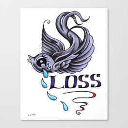 Loss Canvas Print