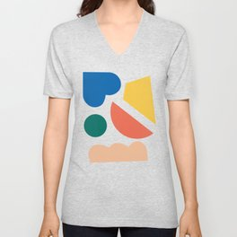 Floating lands Unisex V-Neck