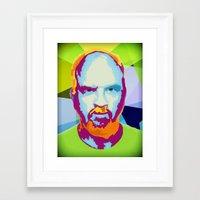louis ck Framed Art Prints featuring Louis CK by Danielle DePalma