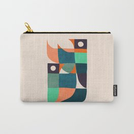 Two birds dancing Carry-All Pouch
