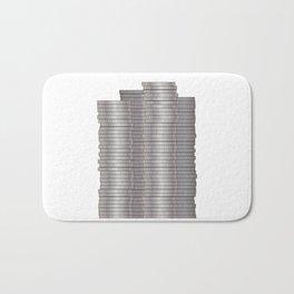 Pieces of Silver Bath Mat