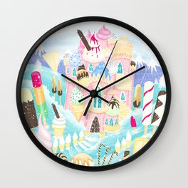 Ice cream Castle Wall Clock