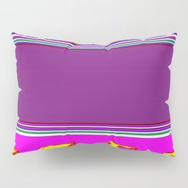 Purple And Gold on The  Horizon Pillow Sham