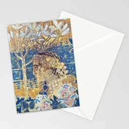 Mikhail Vrubel - Vrubel Prince Gvidon and the Swan Princess - Digital Remastered Edition Stationery Cards
