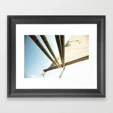 Let's Ride the Wind Framed Art Print