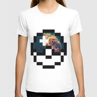 pokeball T-shirts featuring Pokeball Galaxy by Oscar Da Chef Karlsson