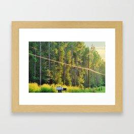 A Brighter Day Framed Art Print
