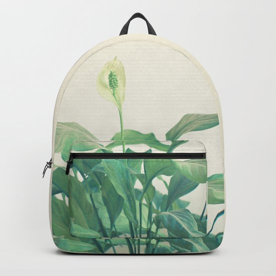 Peace Lily Backpack