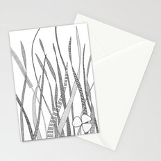 Summer Grass B&W Stationery Cards
