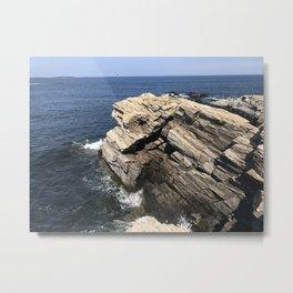 Cliff Diving Metal Print
