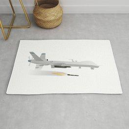 Reaper Military UAV Rug
