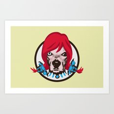 THE BUDDIE x WENDY'S Art Print